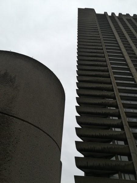Barbican Towers; image R Emberson 2018